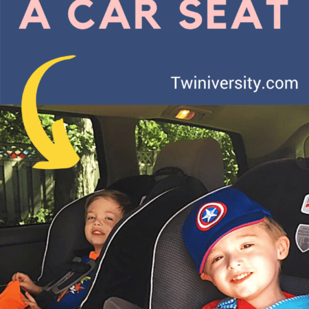 two boys in car seats