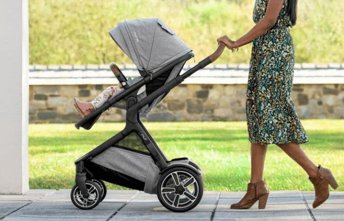 Nuna Demi Grow Single-to-Double Stroller