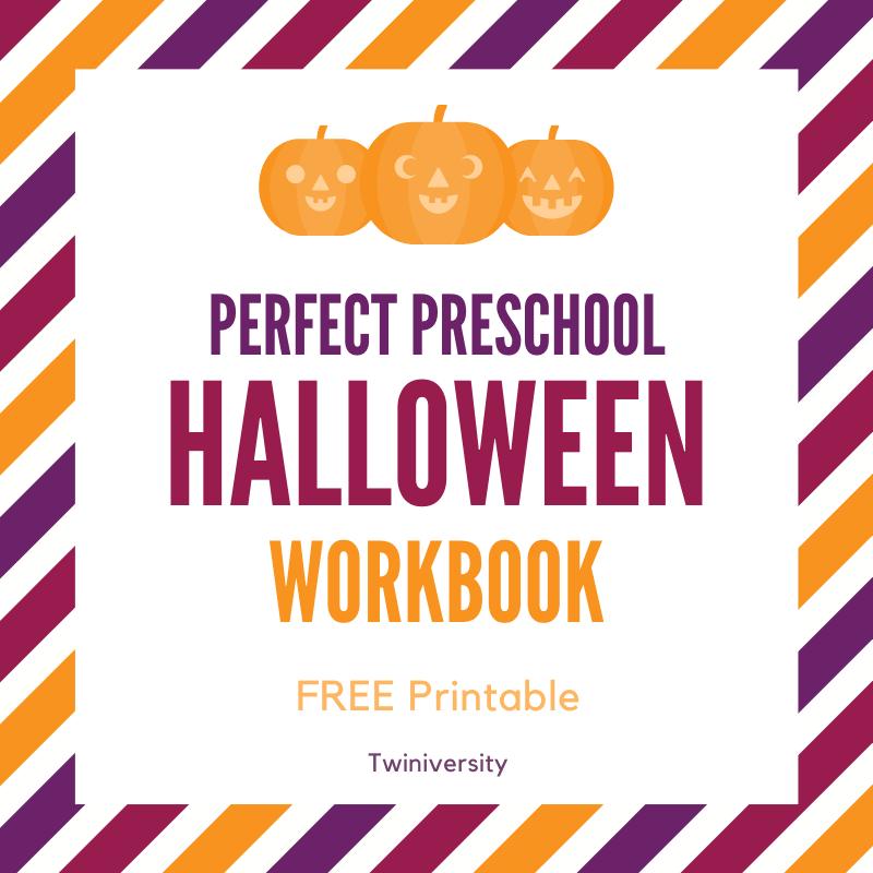 Get Your FREE Halloween Workbook for Preschoolers