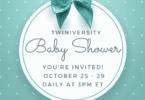 twiniversity baby shower october 2021