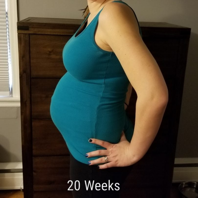 20 weeks pregnant with twins (1)