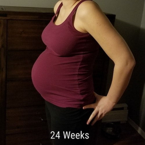 24 weeks pregnant with twins
