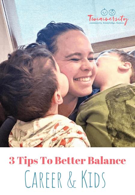 balance career and kids pinterest image