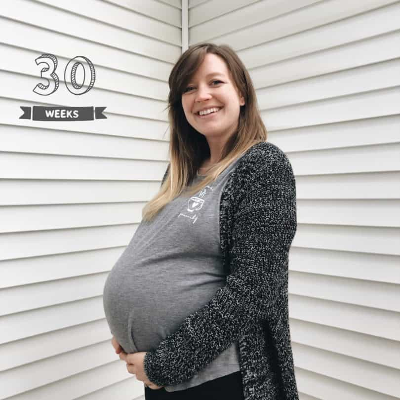 30 weeks pregnant with twins