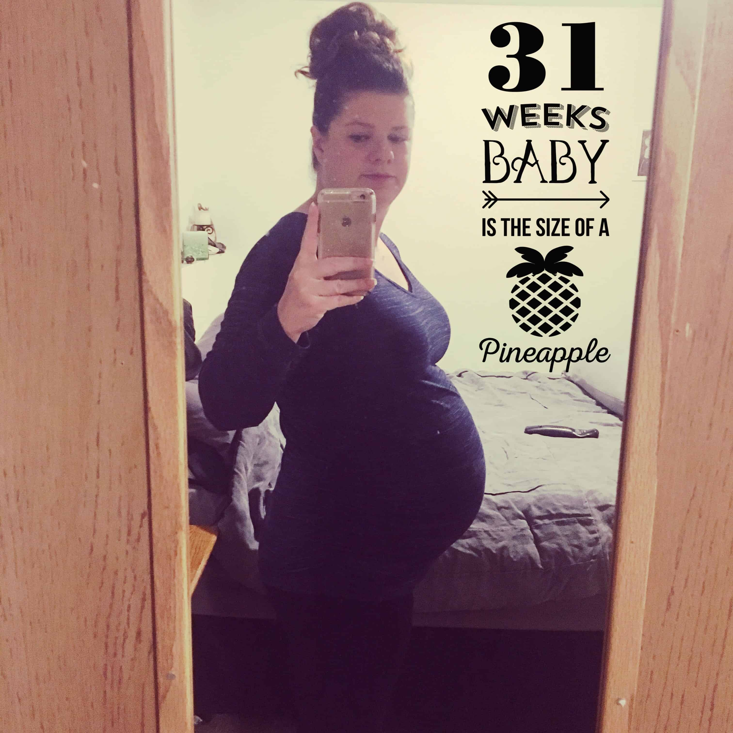 31 weeks pregnant with twins