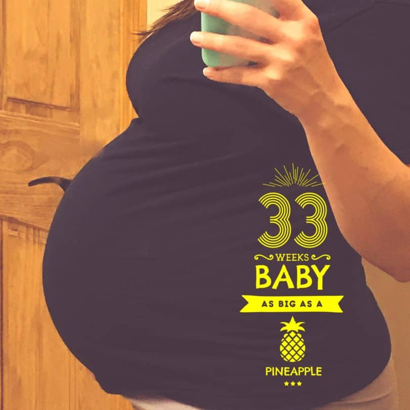 33 Weeks Pregnant with Twins