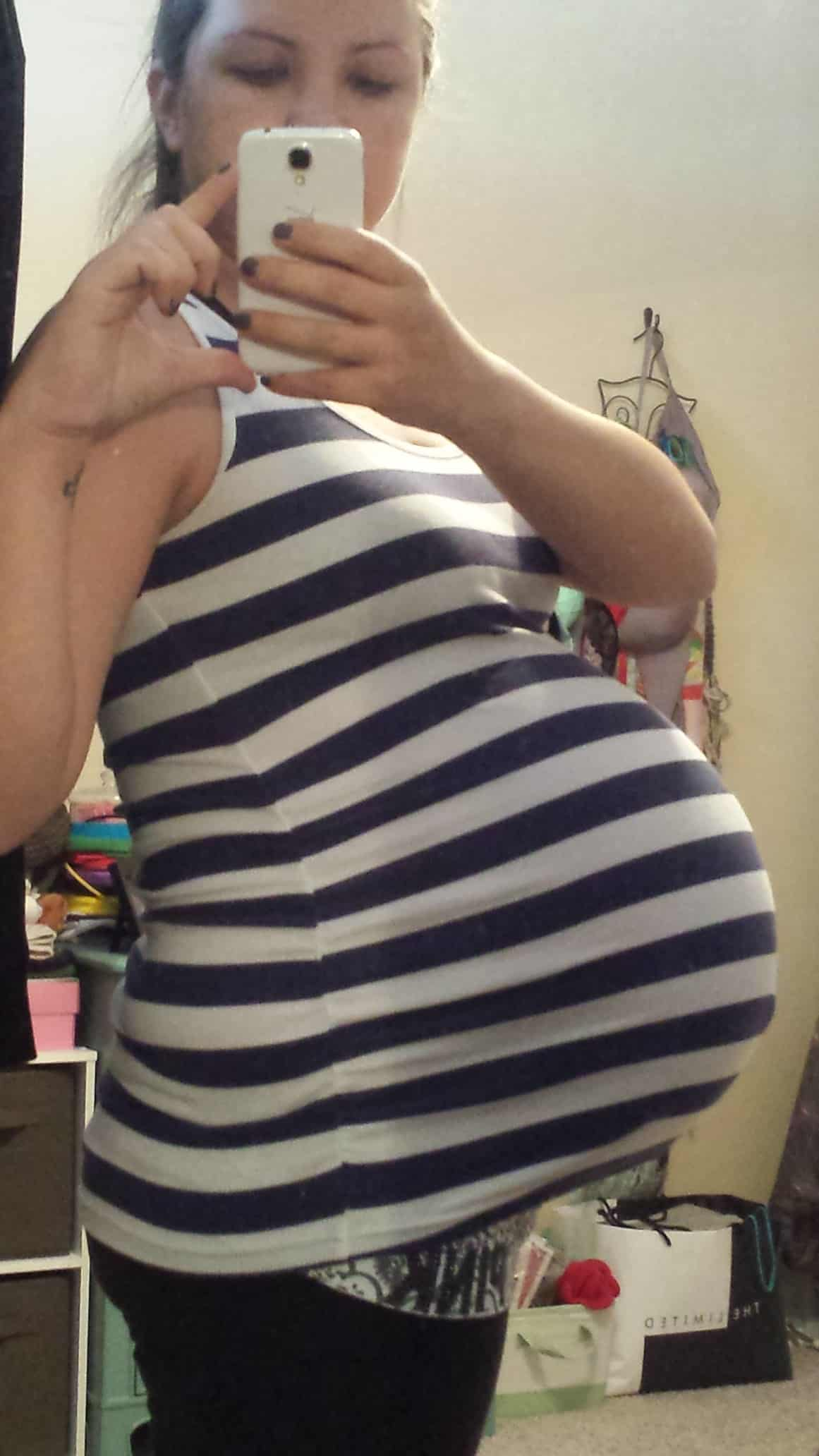 38 weeks pregnant with twins