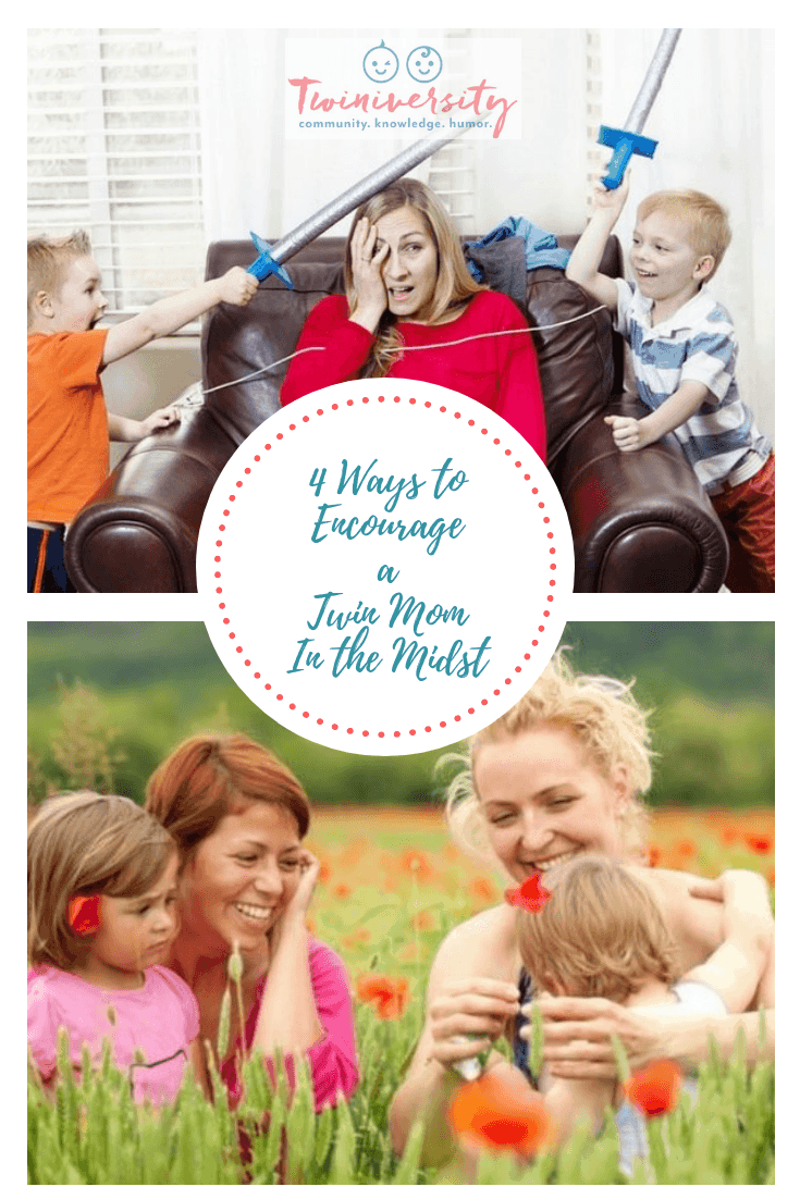 4 Ways to Encourage a Twin Mom in the Midst