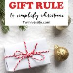 Simplify Christmas with the 4 Gift Rule