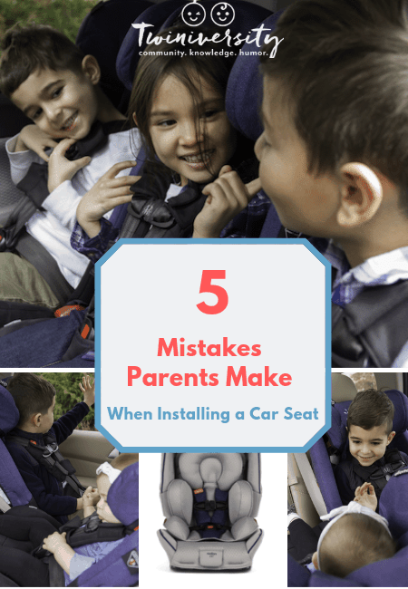 5 Mistakes Parents Make When Installing a Car Seat