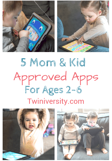 5 Mom and Kid Approved Apps for Ages 2-6