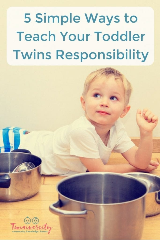 Toddler Twins Responsibility