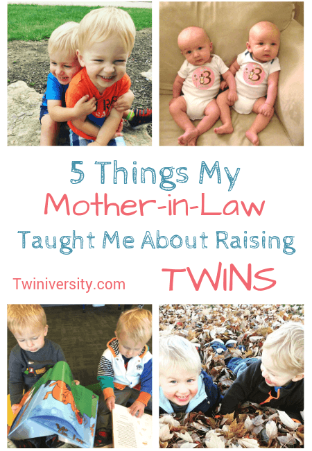 5 Things My Mother-in-Law Taught Me About Raising Twins