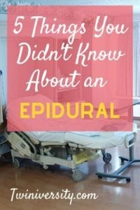 5 Things You Didn't Know About an Epidural
