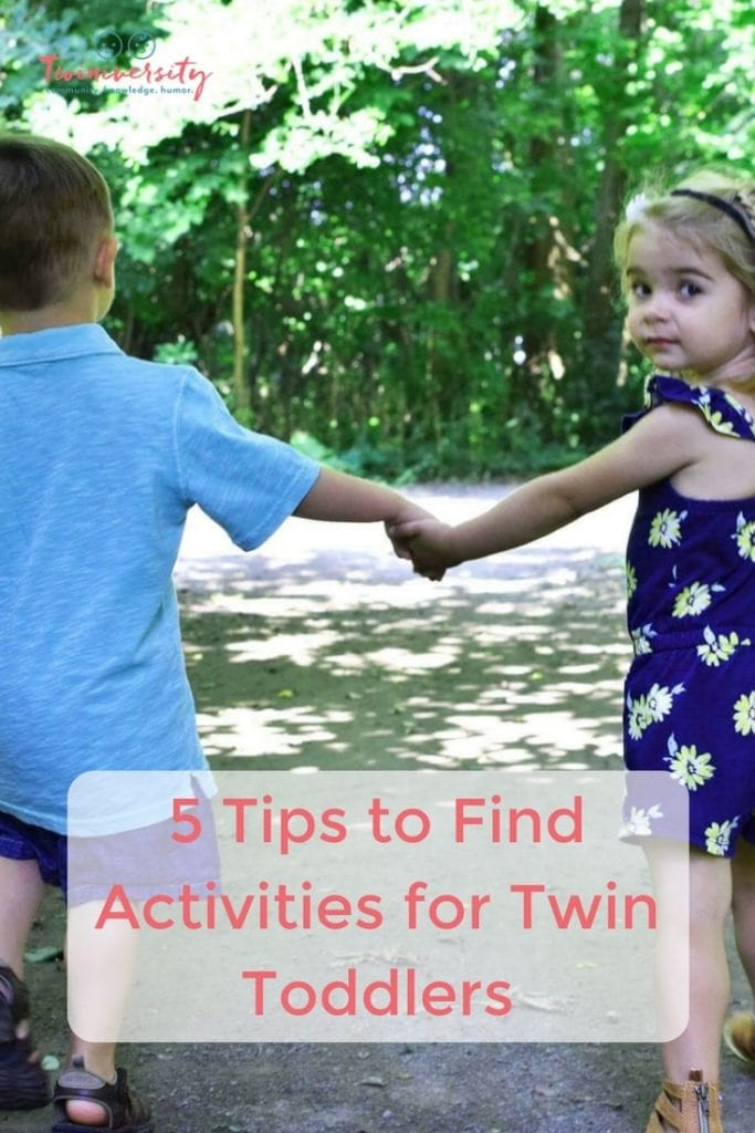 activities for twin toddlers