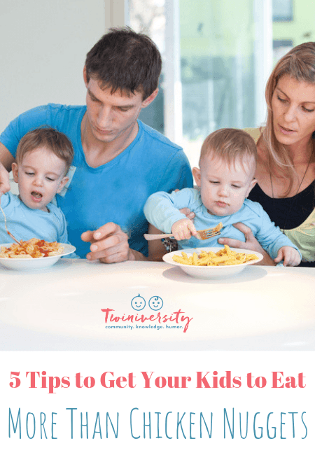 5 Tips to Get Your Kids to Eat More Than Chicken Nuggets