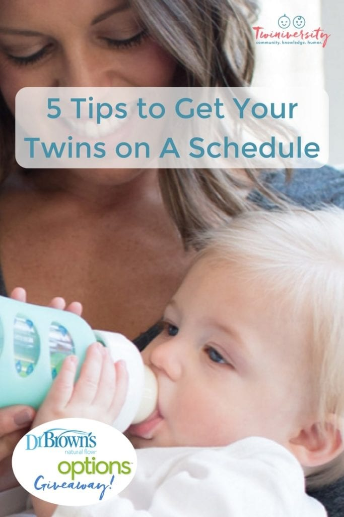 twins on a schedule