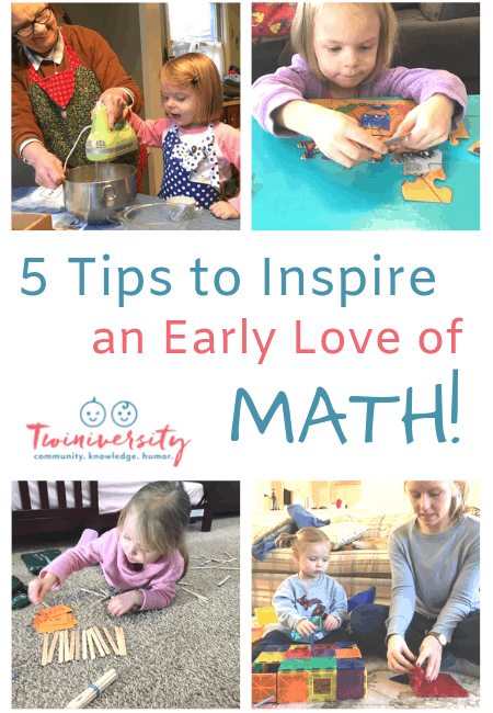 5 Tips to Inspire an Early Love of Math