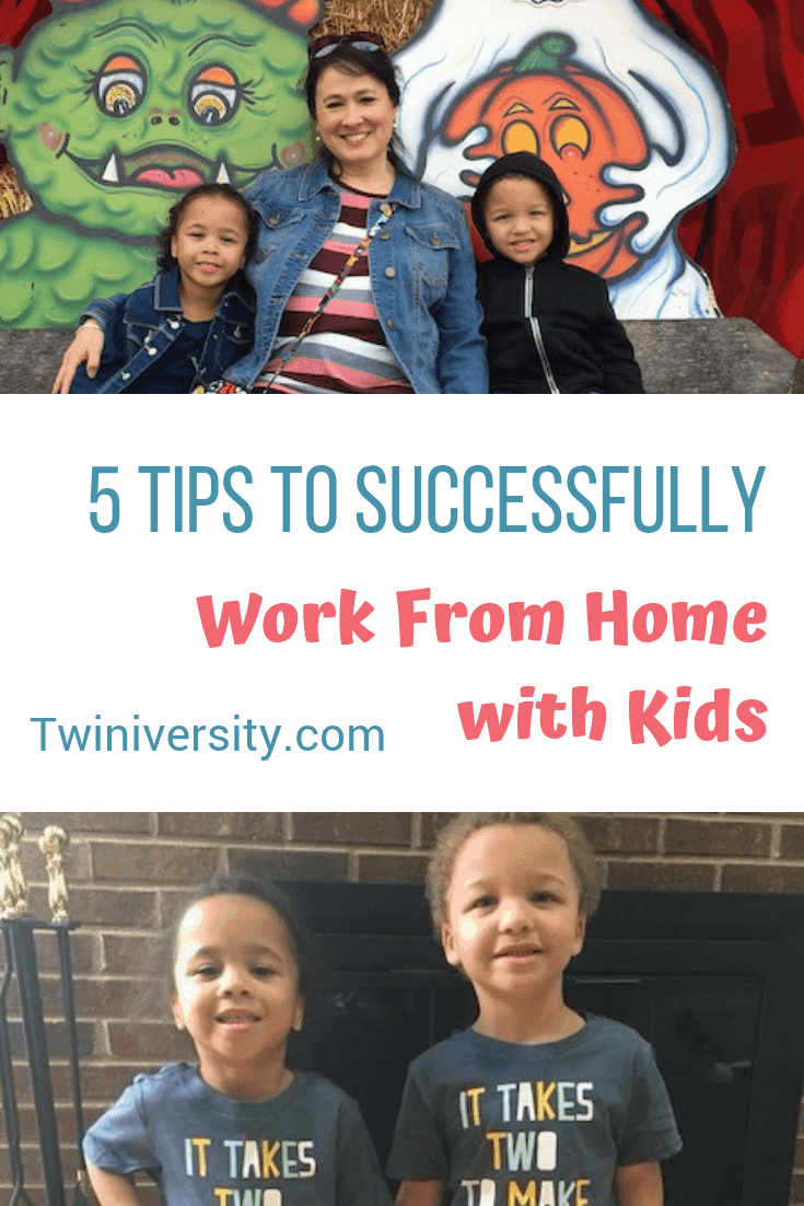 5 Tips to Successfully Work from Home with Kids