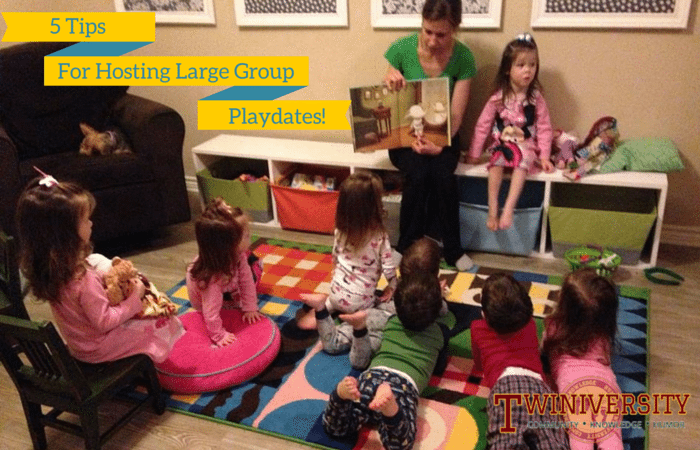 5 Tips for Hosting Large Group Playdates