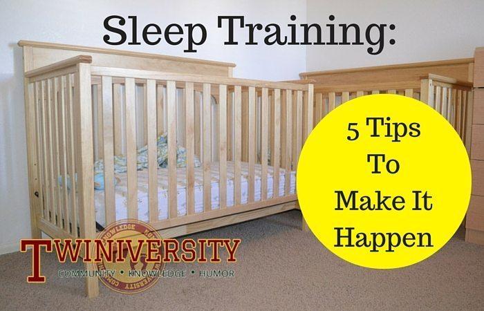 Sleep Training: 5 Tips to Make it Happen