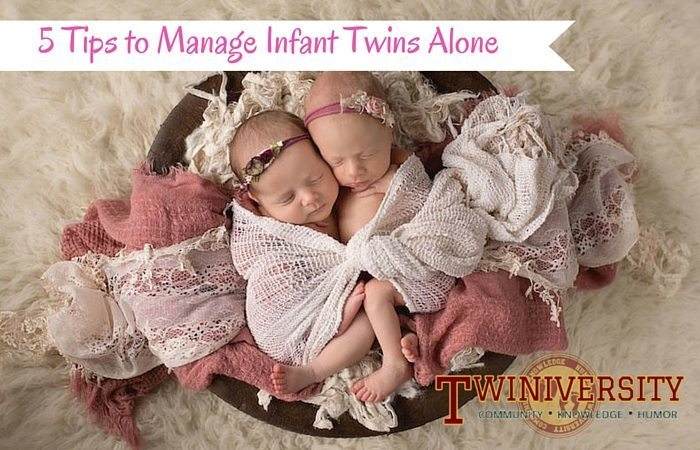 Caring For Newborn Twins Alone