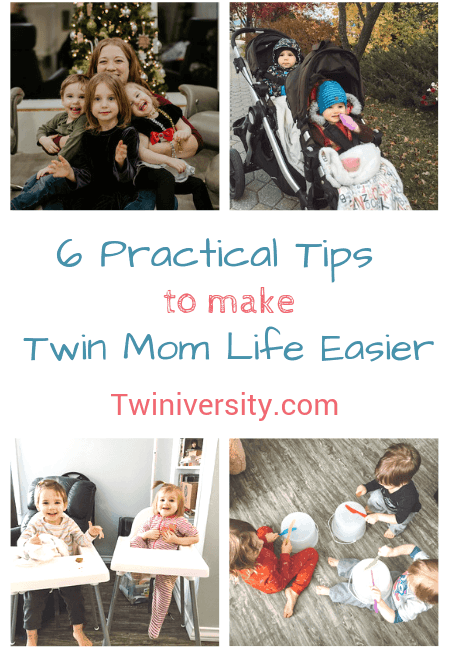 6 Practical Tips to Make Twin Mom Life Easier