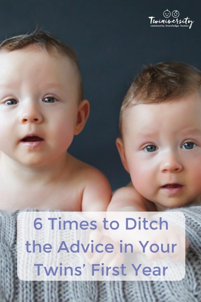 ditch the advice