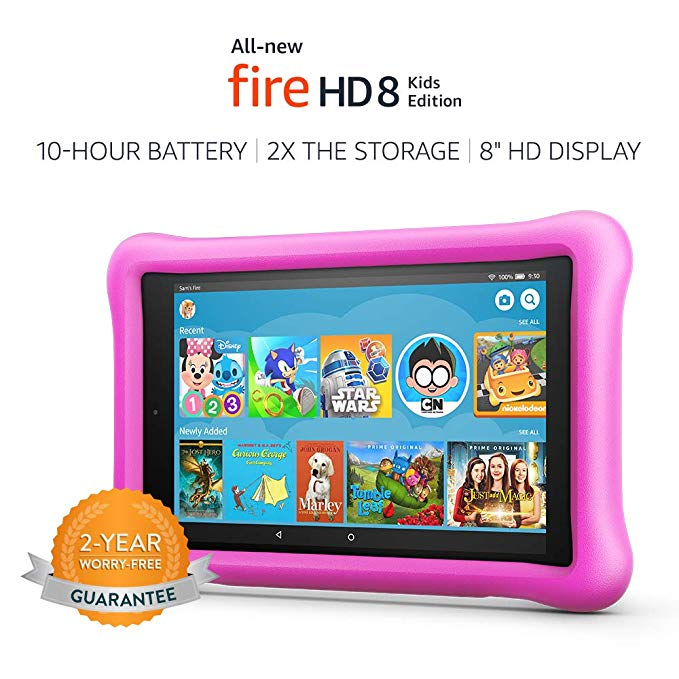 amazon fire hd kids tablet toys that teach