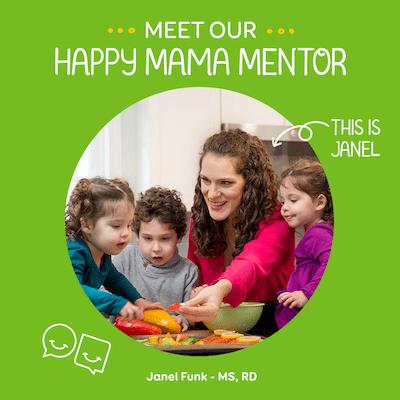 meet happy mama mentor janel feeding twins