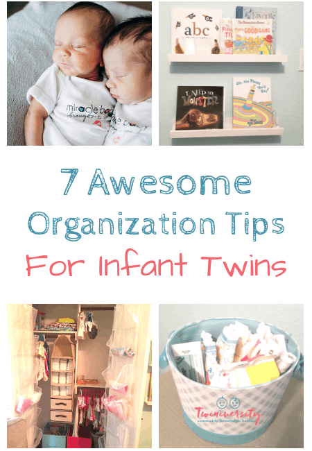 7 Awesome Organization Tips for Infant Twins
