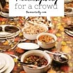 how to host thanksgiving for a crowd