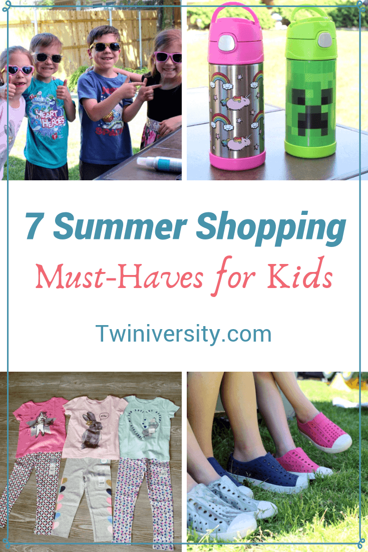 7 Summer Shopping Must-Haves for Kids