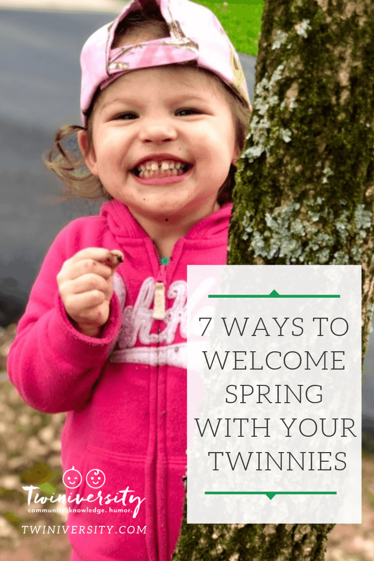 7 Ways to Welcome Spring with Your Twinnies