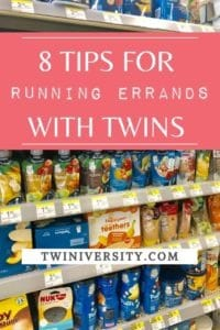8 Tips for Running Errands with Twins