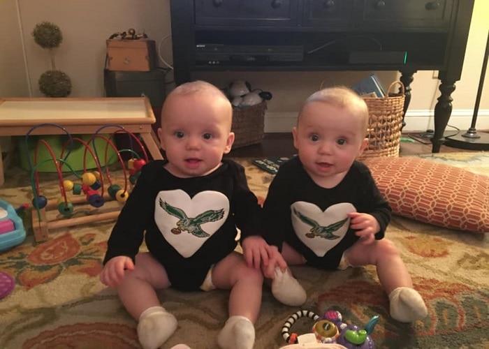 twins 8 months