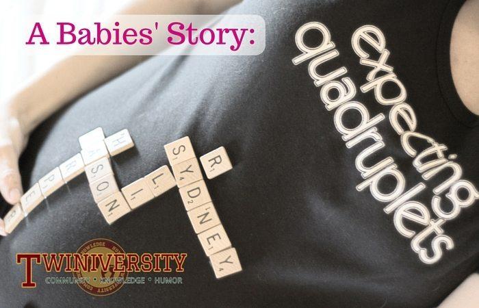 expecting quadruplets