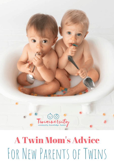 A Twin Mom's Advice for New Parents of Twins