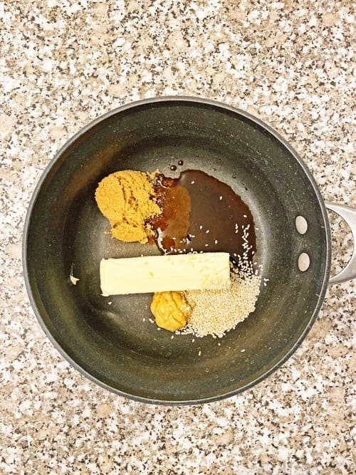 ingredients for leftover turkey sliders recipe