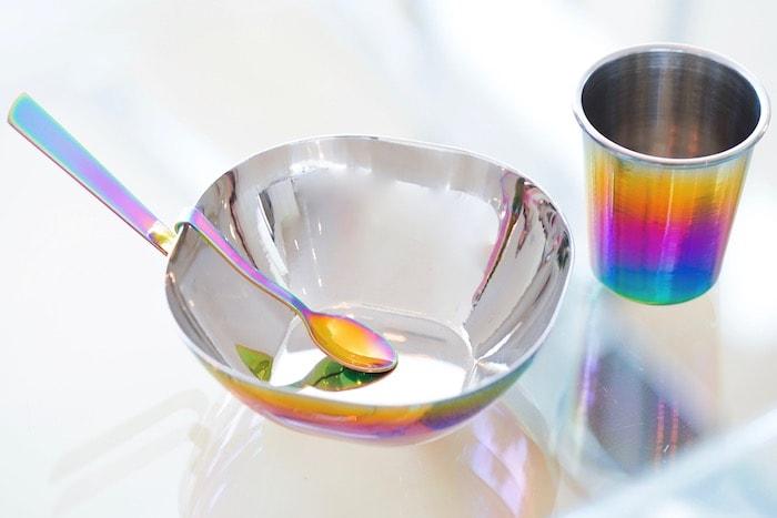 ahimsa stainless steel dinnerware for kids