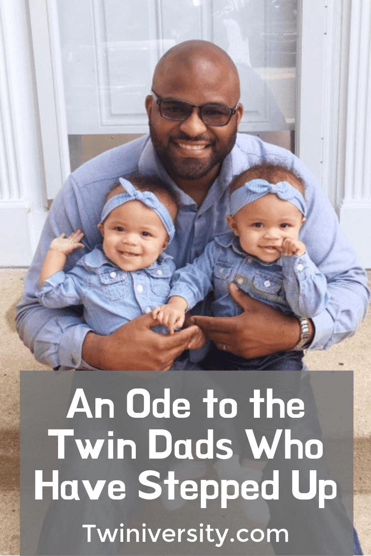 An Ode to the Twin Dads Who Have Stepped Up
