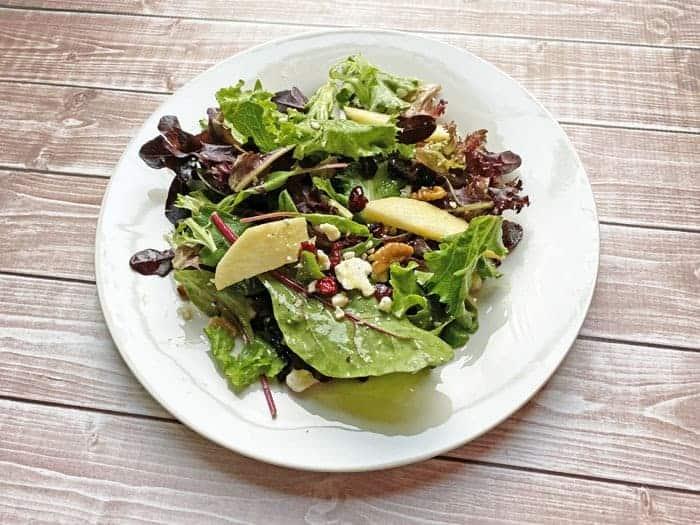 apple cranberry walnut salad recipe