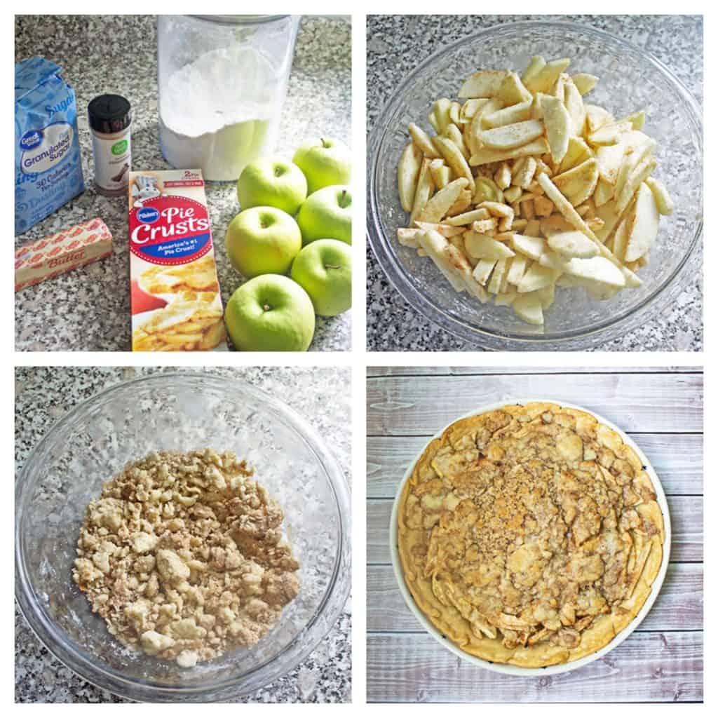 making a dutch apple pie