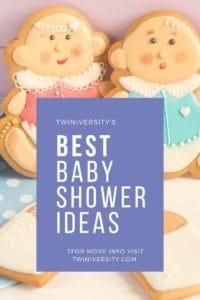 Best Twin Baby Shower Ideas