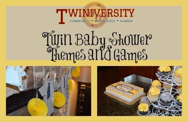 Twin Baby Shower Themes And Games Twiniversity