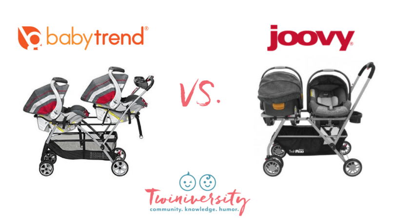 are you considering a double stroller frame for your infant twins we took the two most popular double stroller frames on the market baby trend snap n go - Double Stroller Frame