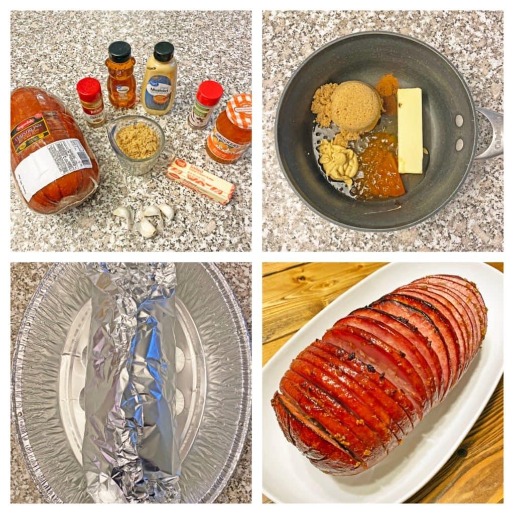 honey glazed ham recipe