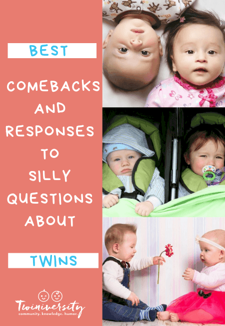 Best Comebacks and Responses to Silly Questions About Twins