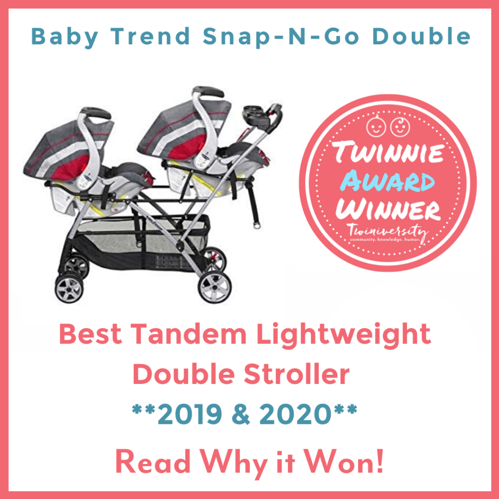 8 weeks pregnant with twins baby trend snap-n-go double