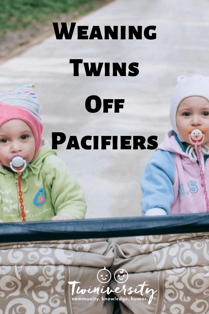 Breaking the Binky Habit: Weaning Twins Off Pacifiers